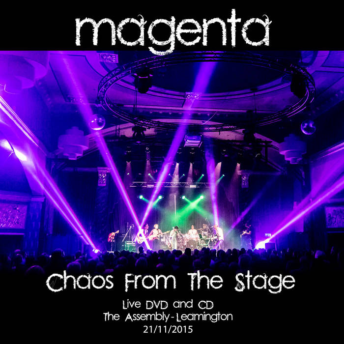 Live 2015 Chaos from the stage (CD-DVD) - MAGENTA