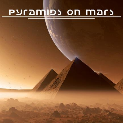 Edge of the black - PYRAMIDS ON MARS