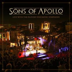 LIVE WITH THE PLOVDIV PSYCHOTIC SYMPHONY (CD X2) - SONS OF APOLLO