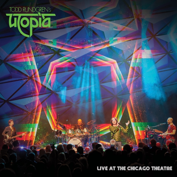 Live At The Chicago Theatre (CD X 2) - TODD RUNDGREN'S UTOPIA